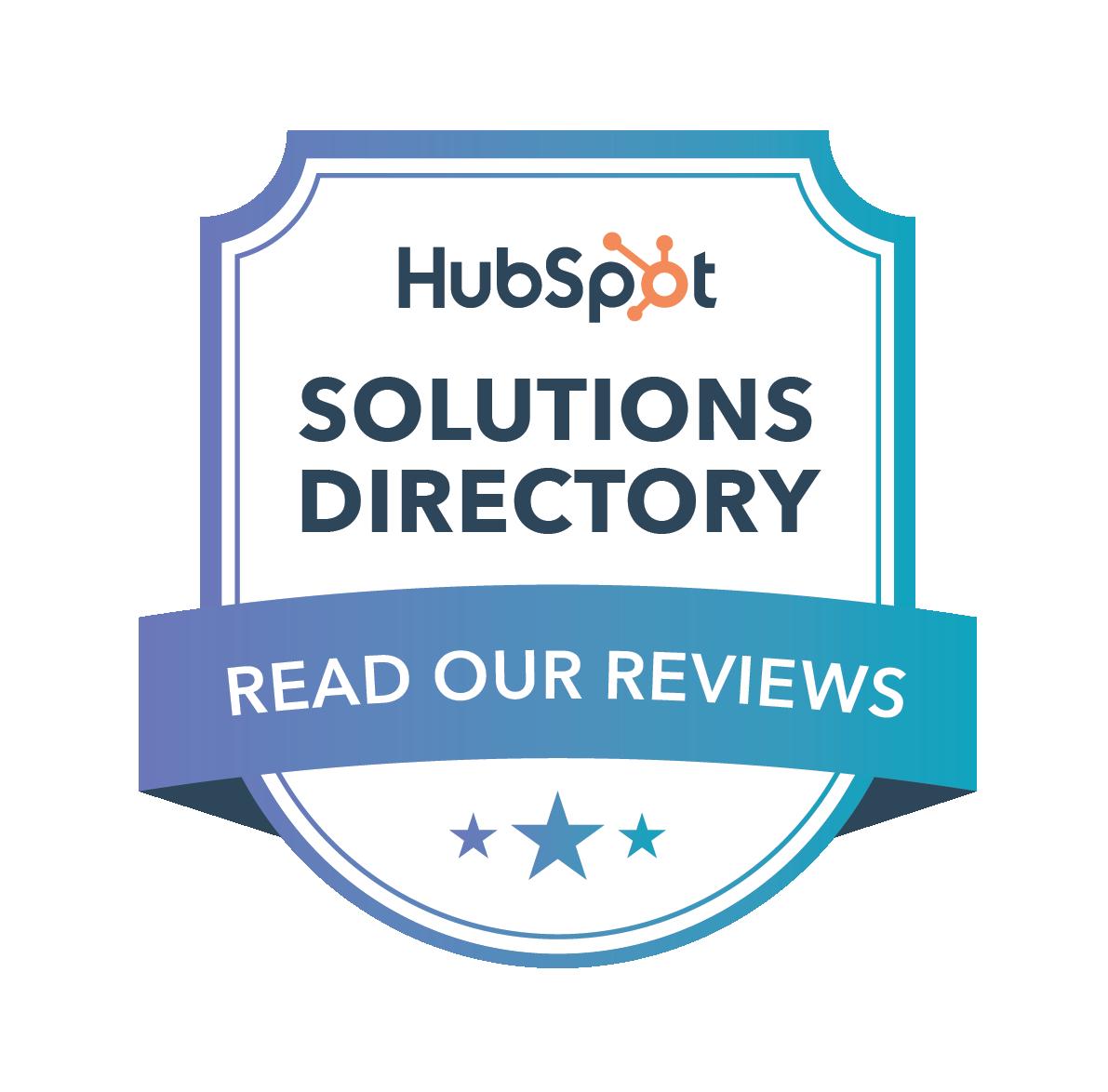 HubSpot Solutions Directory Badge
